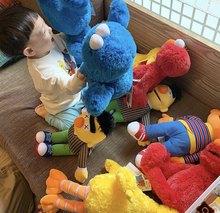 45-52cm 5 style Sesame Street Plush Doll Toys Elmo Cookie Bigbird Ernie Bert Figures Soft Plush gift Decorative doll