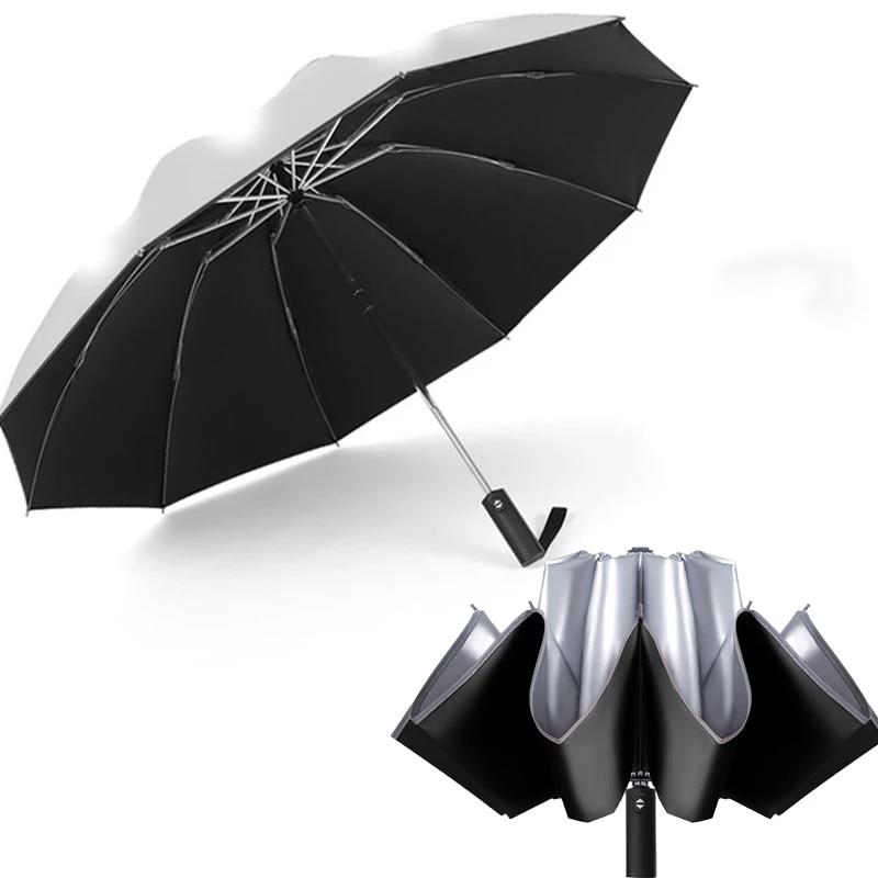 Fashion Folding Umbrellas poslinemb.pl Color : Wine red, Size ...