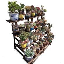Escalera Decorativa Madera Etagere Plante For Estante Para Plantas Pot Indoor Outdoor Flower Stand Dekoration Rack Plant Shelf