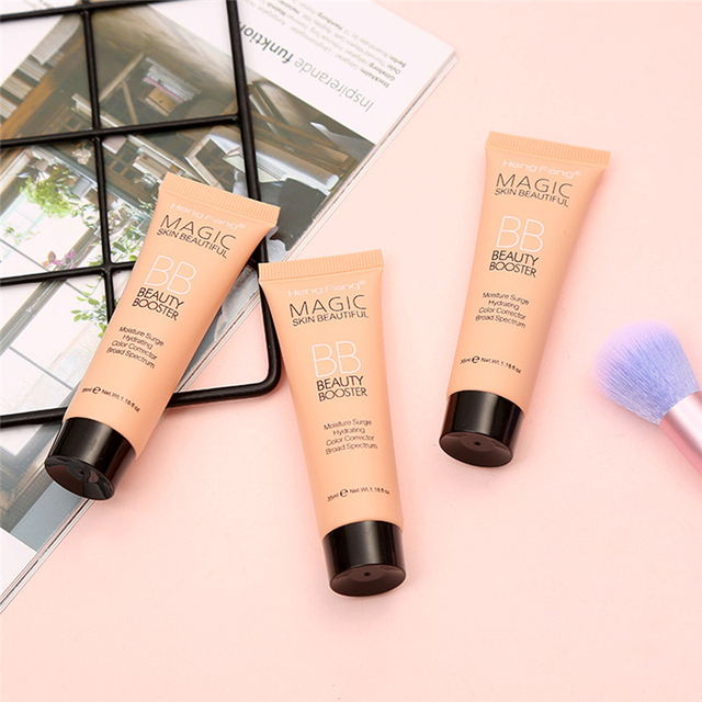 Face Base Foundation Full Cover Makeup BB Cream Waterproof Long Lasting Facial Concealer Brighten Whitening Cream Korean Makeup 4