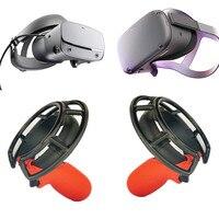 플라스틱 컨트롤러 핸들 보호 커버 oculus rift s/quest 헤드셋 vr shockproof shell game. 보호 링. 안티 imp