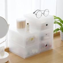 Тип ящика косметическая коробка косметика органайзер для хранения бижутерии Коробка Контейнер Чехол подставка 2/3 ящиков