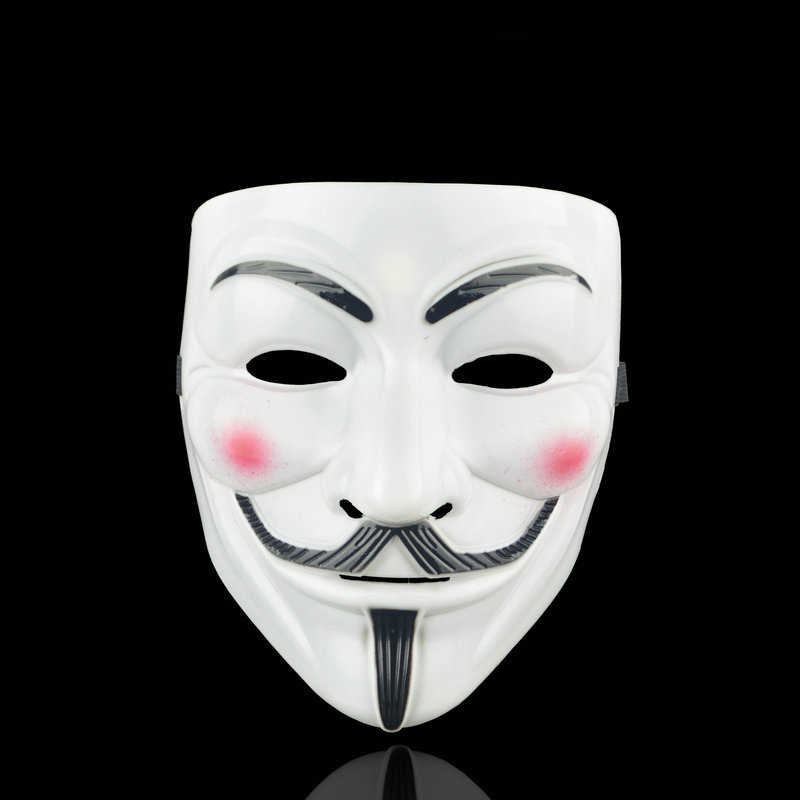 Party Masks V Vendetta Mask Anonymous Guy Fawkes Fancy Adult Costume Accessory Party Cosplay Halloween Masks