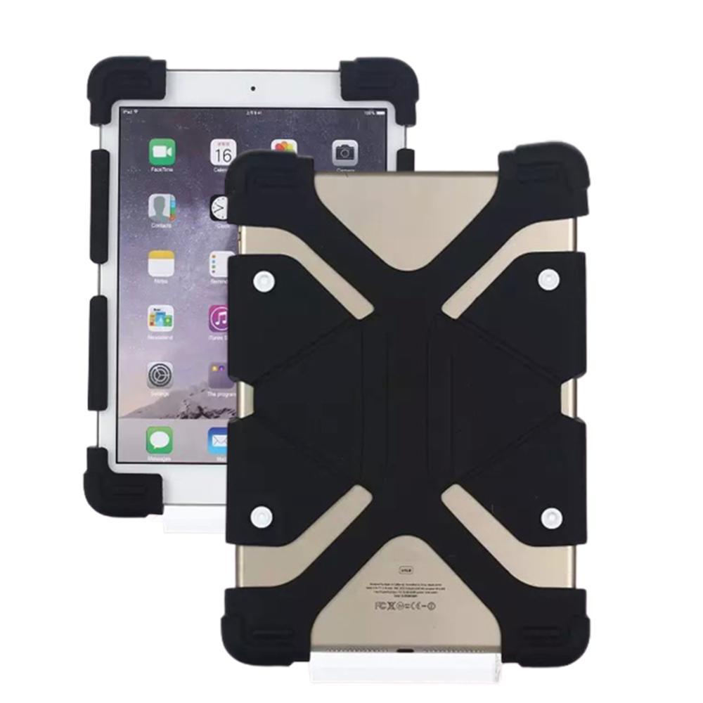 Универсальный чехол для планшета 7,9-9 дюймов, разноцветный высококачественный ударопрочный противопылезащитный чехол для планшета с подст...