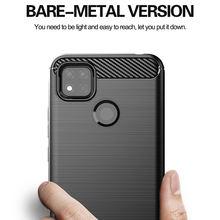For Xiaomi Redmi 9C Case Carbon Fiber Shockproof Soft Silicone Cover for Xiaomi Redmi 9C 9A Redmi 9 Note 9 Pro Mi Note 10 Lite