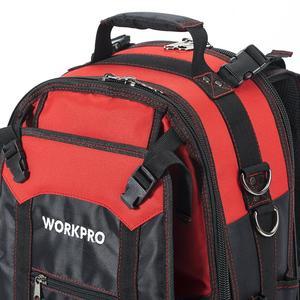 Image 4 - WORKPRO חדש כלי תרמיל סוחר ארגונית תיק עמיד למים כלי שקיות תרמיל תכליתי Toolbag