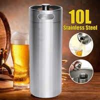 Mini-Keg de bière en acier inoxydable, broyer pressurisé, bouteille de bière Portable, outil de fabrication de bière