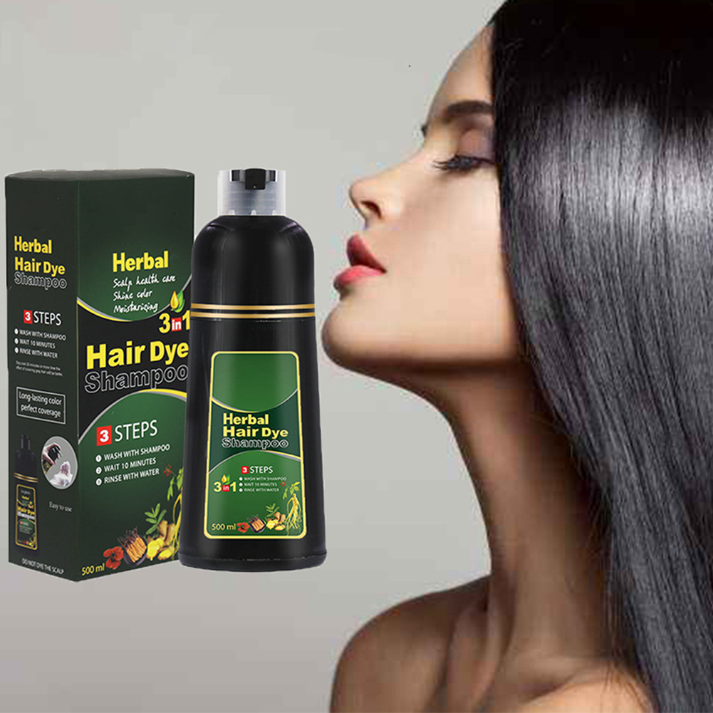 Herbal Hair Dye Shampoo