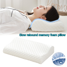 Pillow Home-Accessories Ergonomic-Bed Memory-Foam Sleeping-Neck Pain-Relief for Slow-Rebound