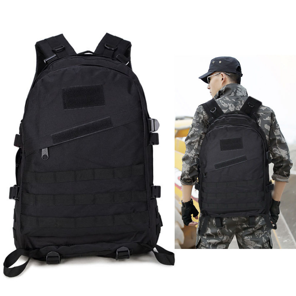 40L Outdoor Tactical Backpack Military Bag Tactical Rucksack Hiking Camping Tactic Backpacks Climbing  Nylon Waterproof