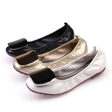 Luxury Women Flats Shoes Loafers Ballet Flats Shoes Woman Slip-On Solid Shallow Soft Bottom Comfort Ladies Shoes High Quality цена 2017