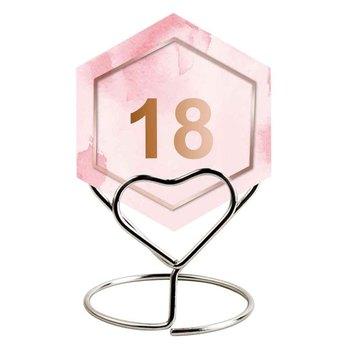 20 szt Numer weselny stojaki karteczka z miejscem uchwyt drut stalowy Mini urodziny uniwersalny wielokrotnego użytku piękny wystrój stołu tanie i dobre opinie CN (pochodzenie) Metal