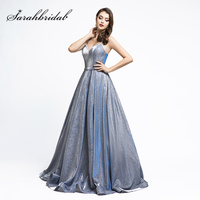 New Arrival Ball Gown Evening Dresses in Pockets Sweetheart Zipper Back Pageant Dress Reflective Long Prom Party Gowns L5474