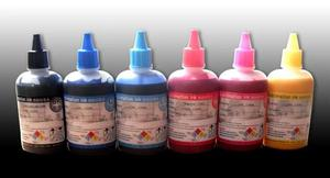 100ml each color, 6 color , total 600ml Top Quality 6 colors Imported Korea Inkjet Printing Sublimation Ink cin2(China)