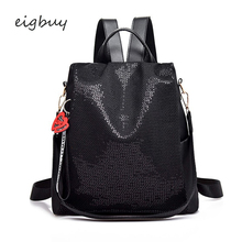 Female Travel Backpack Hot Student  Black Vintage School Backpacks For Teenagers Mochila Notebook Rucksack