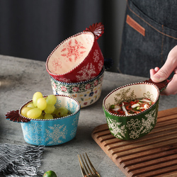 Hand-painted Japanese-style dishes, seasoning dishes, dipping sauces, soy sauce, vinegar dishes, creative special-shaped bowls