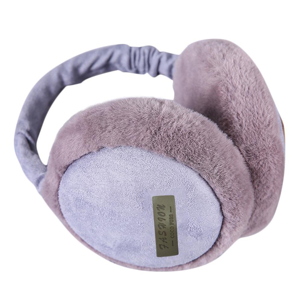 Best Selling 2019 Product Unisex Winter Burger Earmuffs Earwarmers Ear Muffs Earlap Warmer Headband Clothing Accessories #23