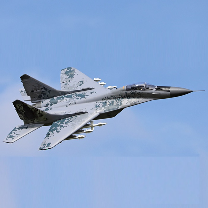RC Jet Fighter Freewing Airplane Twin 80 мм Fulcrum Mig29 PNP