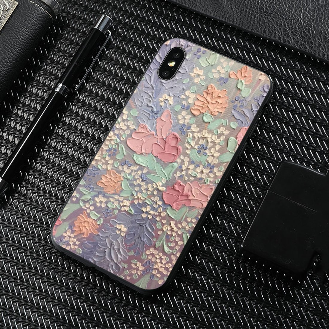 Cute Classic Painting Flower Aesthetic For LG G2 G3 G4 Mini G5 G6 G7 Q6 Q7 Q8 Q9 V10 V20 V30 X Power 2 3 Spirit Soft Shell Case