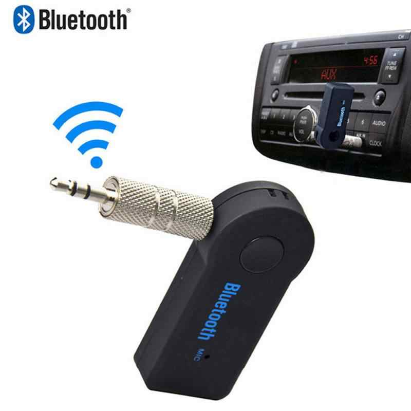 1pc 3.5MM Jack AUX Audio MP3 Music Bluetooth Receiver Car Kit Wireless Handsfree Speaker Headphone Adapter A2DP USB for iphone