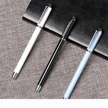 цена Bottle Rock Black White Fine Nib Fountain Pen Pen for Writing Couple Pens for Gift онлайн в 2017 году