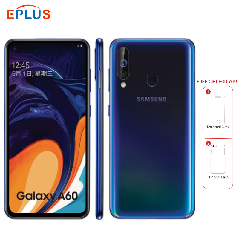 Brand New Samsung Galaxy A60 4G Mobile Phone 6.3 6GB RAM 128GB ROM Snapdragon 675 Octa Core 32MP Triple Camera Android Phone image
