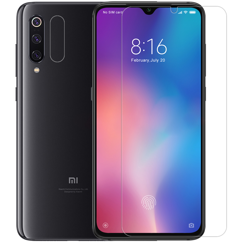 Image 3 - Nillkin for Xiaomi Mi 9 8 SE 9T Pro 5G Glass Screen Protector 9H Safety Tempered Glass for Xiaomi Mi9 Mi9T Mi 9 Lite Mi A3 A2 6-in Phone Screen Protectors from Cellphones & Telecommunications on