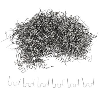 Big deal 1000 sztuk zszywki na gorący zszywacz plastikowe naprawy fala zszywki zderzak naprawy karoserii 0 8mm S fala zszywki gorący zszywacz tanie i dobre opinie plastic welder NONE Staples for hot stapler CN (pochodzenie)