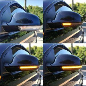 Image 3 - ديناميكية مصباح إشارة الانعطاف LED مرآة مؤشر ل باسات B6 جولف 5 MK5