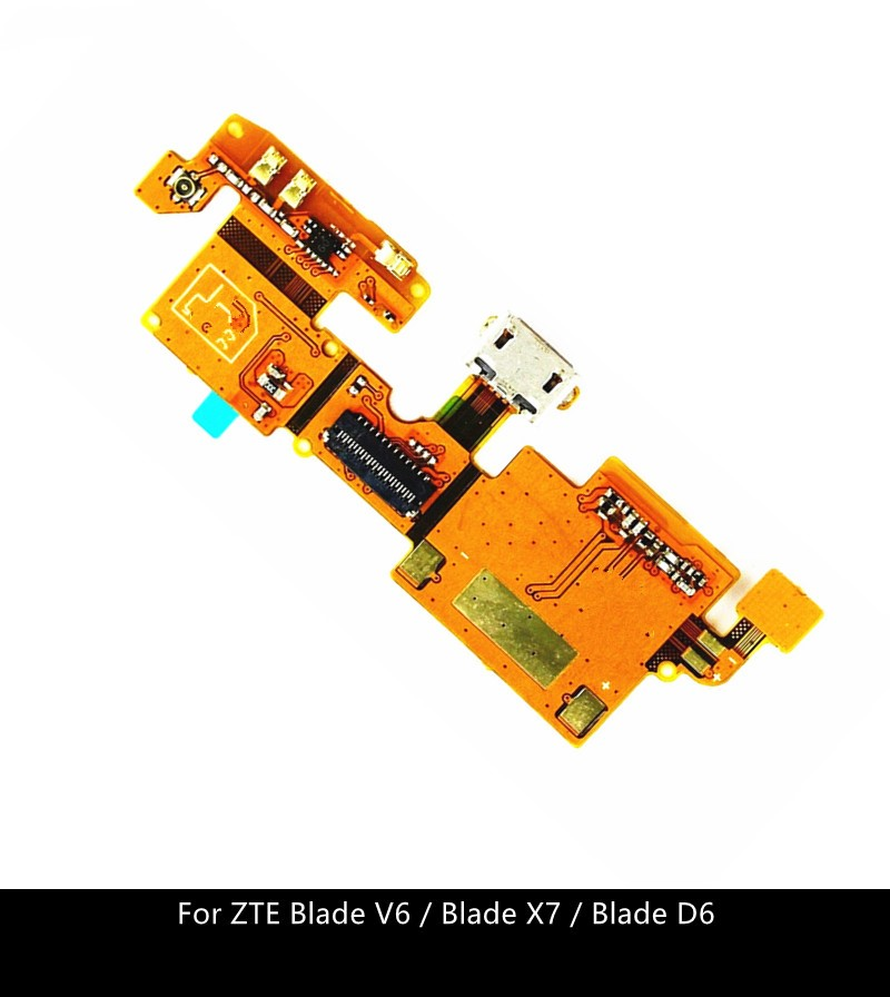 For ZTE Blade V6 / Blade X7 / Blade D6 Usb Charger Port Dock Connector Flex Cable Repair Parts