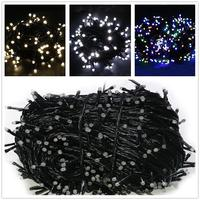 Twinkle AC220V LED Fairy Light Christmas Outdoor String Lights Garland 100M Waterproof Holiday Wedding Party Backyard Tree Lamp