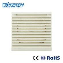 Комплект вентиляционных фильтров для шкафа жалюзи крышка решетка вентилятора жалюзи воздуходувка вытяжной вентилятор фильтр FK-3322-300 фильтр без вентилятора