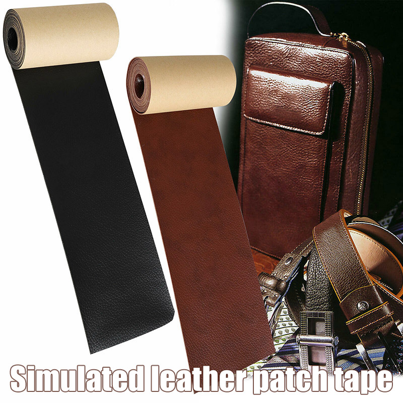 Simulation Leather Tape Self-Adhesive Waterproof Repair Patch For Sofas Couch I88 #1