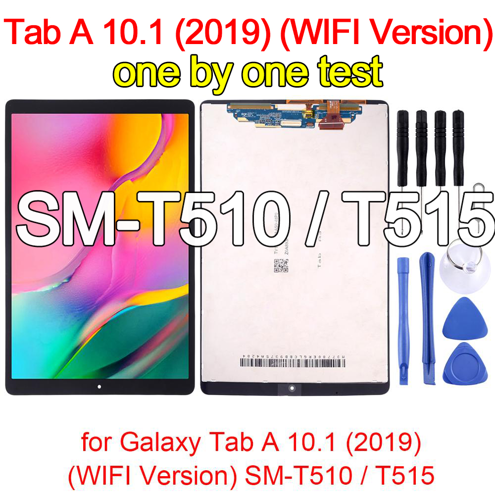 Для Samsung Galaxy Tab A 10,1 (2019) (версия Wi-Fi) SM-T510/T515, ЖК-дисплей + сенсорная панель, экран, стекло, дигитайзер, Асса