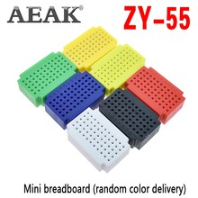 Aeak ZY-55 Pcb Breadboard Punten Solderless Mini Universele Test Protoboard Diy Broodplank Voor Arduino Lego(China)