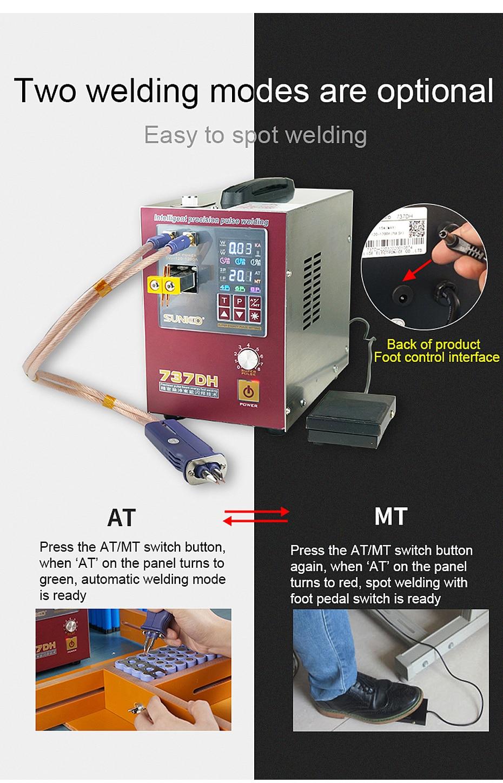 soldador para 18650 bateria 4.3kw alta potência