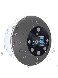 Shower-Speaker Bathroom Waterproof Wireless-Radio Portable Bluetooth with Led-Display