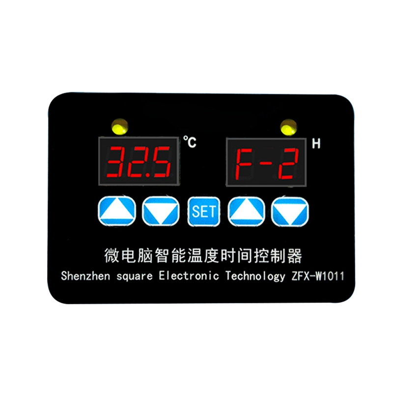 ZFX-W1011 Microcomputer Digital Display Temperature Controller Thermostat Intelligent Time Controller Adjustable Electronic Temp