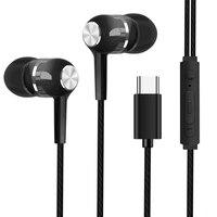 Typ-C Wired In-ohr Kopfhörer Sport Mode-Headsets Bass Kopfhörer mit Mikrofon 360D Surround Sound Ohrhörer für xiaomi Huawei
