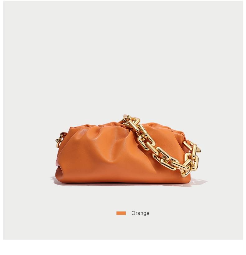 celebridade estrela couro moda feminina bolsa macia axilas