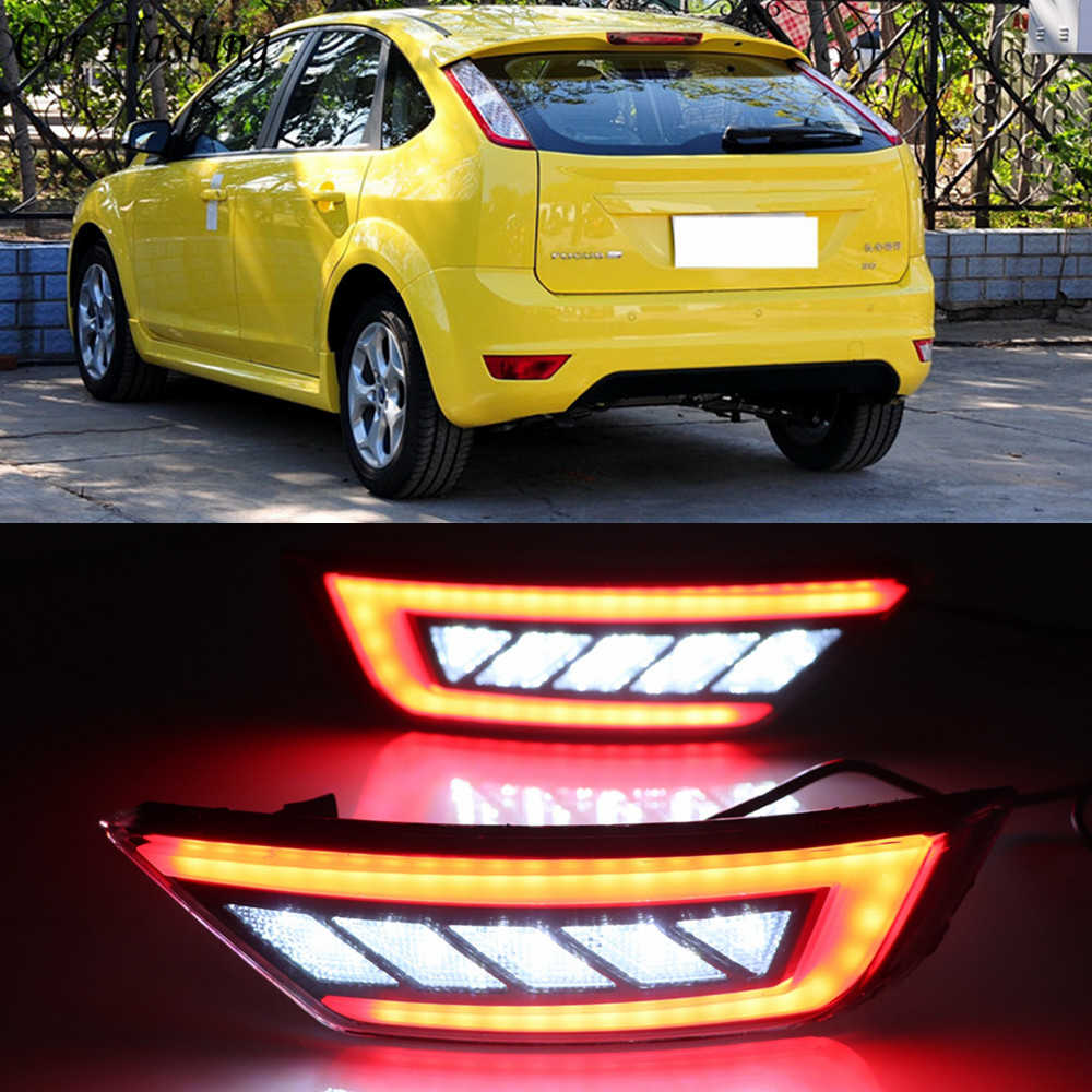 สำหรับ Ford Focus Hatchback CLASSIC 2009 2010 2011 2012 2013 รถสะท้อนด้านหลังขวาไฟหมอกหลอดไฟ