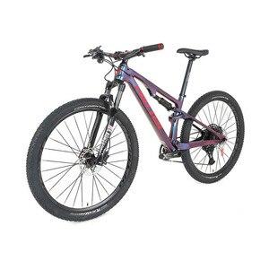 Карбоновый велосипед, двойной амортизатор Zite 2X12 для езды по пересеченной местности