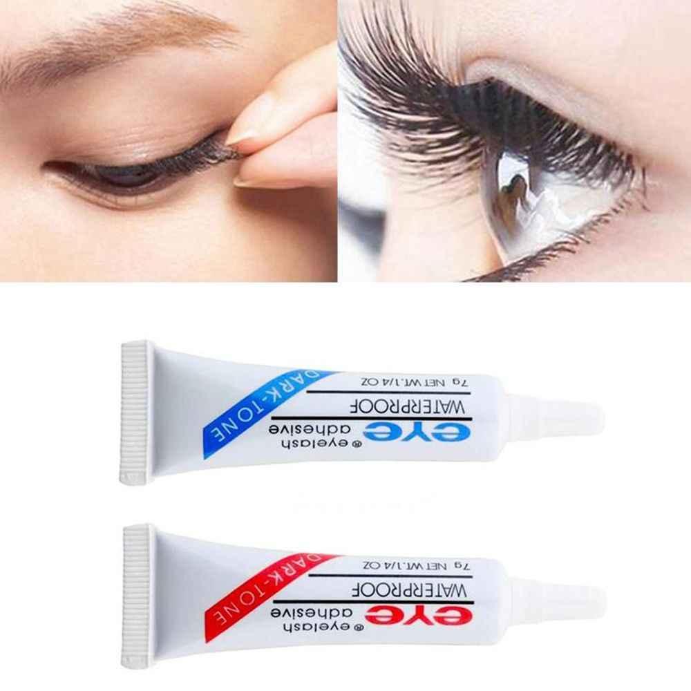 Ciemny czarny przezroczysty wodoodporny sztuczne rzęsy makijaż klej do klej do rzęs przezroczysty biały Eye Lash szczepienia klej przybory kosmetyczne