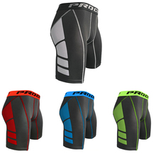 Crossfit Shorts Underwear Leggings Gym Sport Fitness Quick-Dry Men