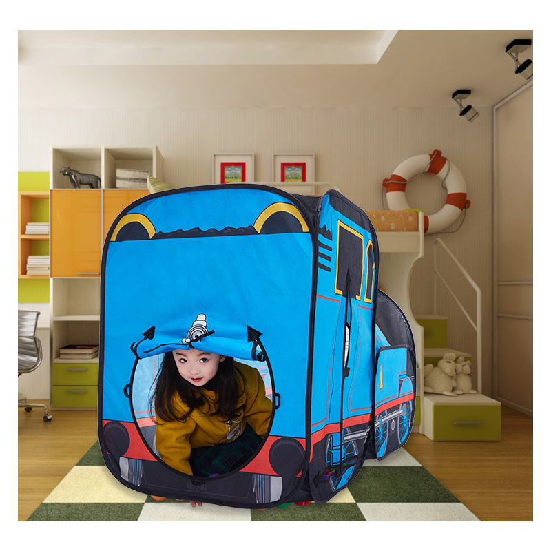 Thomas KID'S Tent Boy Small Train Educational Toy Indoors And Outdoors Play House Game House