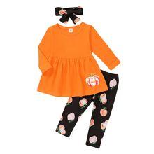 Осенний комплект одежды для маленьких девочек Повседневный мягкий