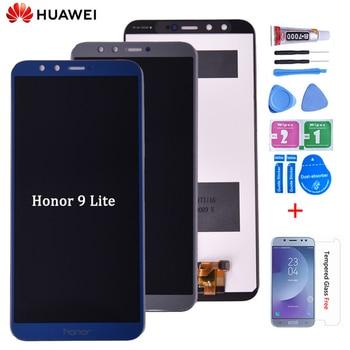 Oryginalny dla Huawei Honor 9 lite wyświetlacz LCD ekran dotykowy dla Huawei Honor 9 Lite wyświetlacz LCD z ramką Digitizer LLD-L31