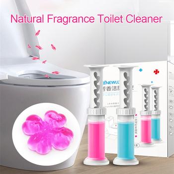 1 sztuk środek czyszczący do wc kwiat żel Cleaner naturalny zapach dezodorant środek czyszczący do wc aromatyczny aromaterapia odświeżacz tanie i dobre opinie