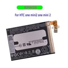 цена на Original Battery B0P6M100 2100mAh for HTC one mini2 one mini 2 battery 2100mah Cellphone New Tested