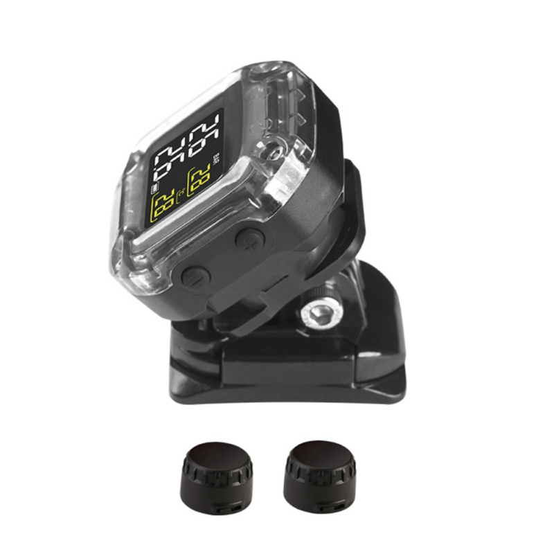 Motorrad TPMS Smart Reifen Druck Überwachung System Solar Power Digital LCD Display Moto Sicherheit Alarm Systeme Reifen Druck